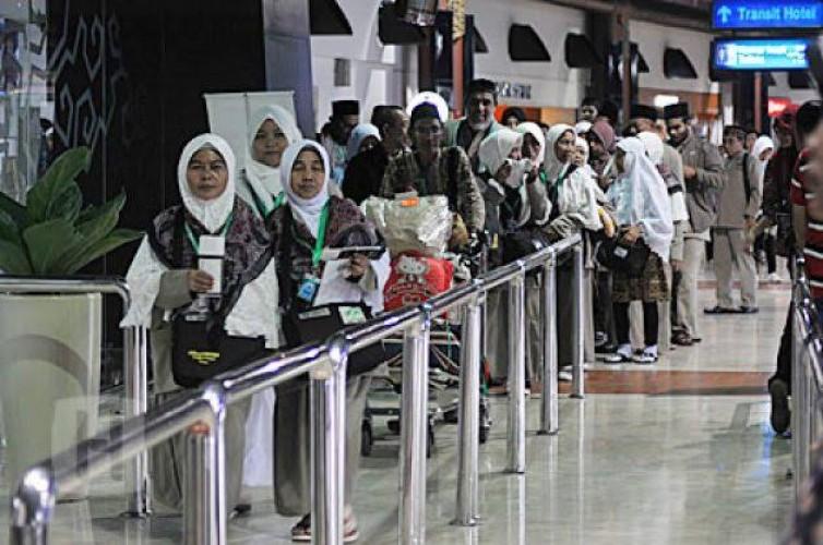 Keberangkatan Ribuan Calon Jemaah Umrah asal Lampung Tertunda