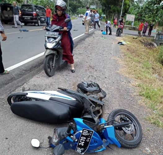 Kecalakaan di Jalinsum Desa Way Arong, Satu Orang Tewas`