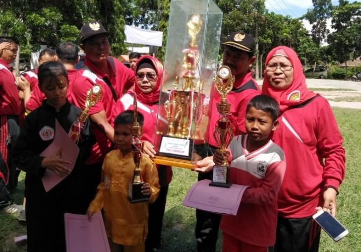 Kecamatan Bakauheni Jadi Juara Umum O2SN Korwil I