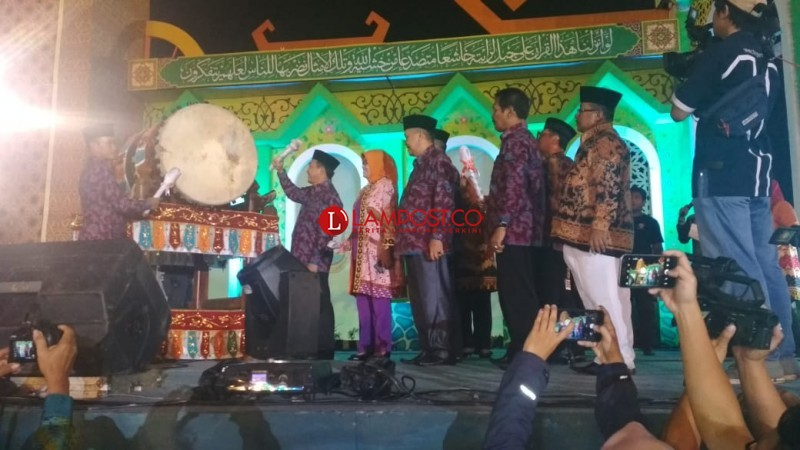 Kecamatan Panjang Juara Umum MTQ ke-50 Bandar Lampung