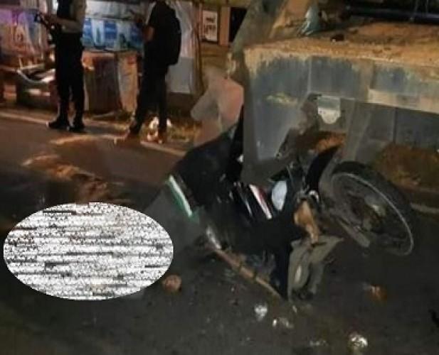 Kecelakaan di Jalan Raden Imba Kusuma, Warga Sumurbatu Meninggal