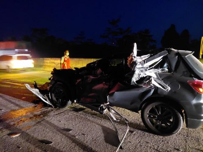 Kecelakaan di Natar, Wakapolres Lampura Luka Berat