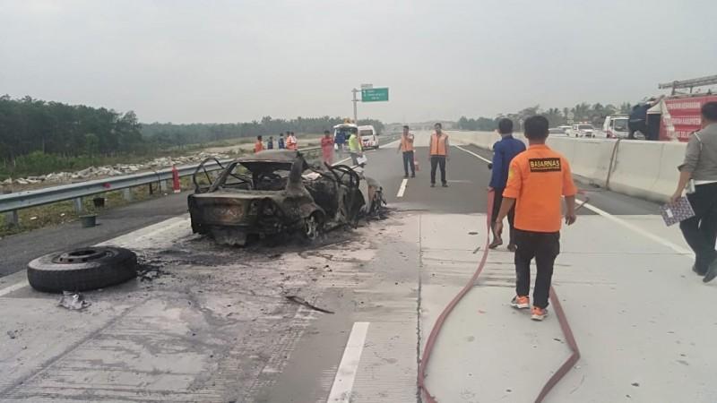 Kecelakaan Maut di Tol KM 96 Renggut Empat Nyawa
