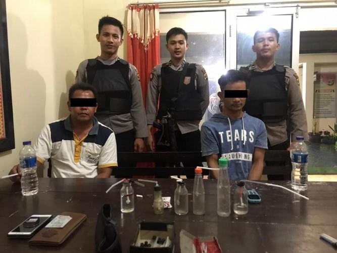 Kedapatan Pakai Sabu, Dua Warga Baradatu Diringkus Polisi