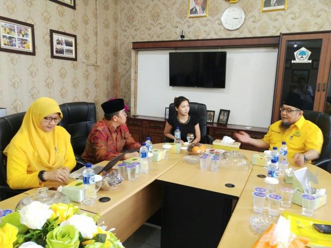 Kedubes SingapuraKunjungi Golkar Lampung
