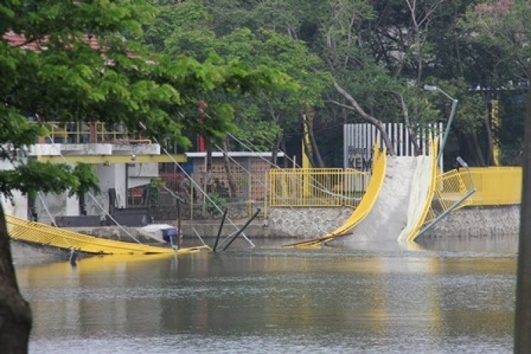 Kegagalan Konstruksi Penyebab Robohnya Jembatan Hutan Kota