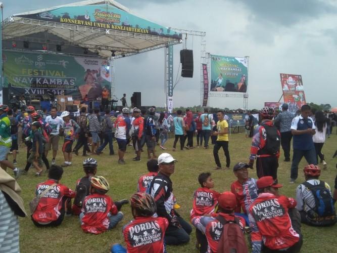 Kegiatan Fun Bike Sepeda Nusantara Berlangsung Meriah