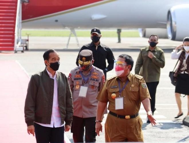Kegiatan Presiden Jokowi selama di Lampung