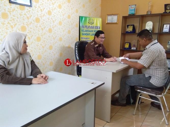 Kejari Bandar Lampung Buka Pos Pelayanan Hukum Gratis