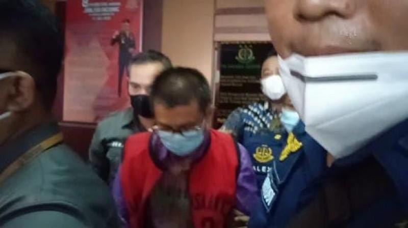 Kejari Metro Tahan Dua Tersangka Korupsi Pasar Cendrawasih