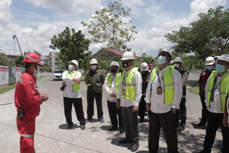 Kejati Lampung Awasi Proyek Gedung 9 Lantai di UIN Raden Intan