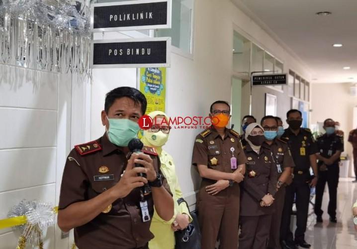 Kejati Lampung Luncurkan Poliklinik dan Ambulans