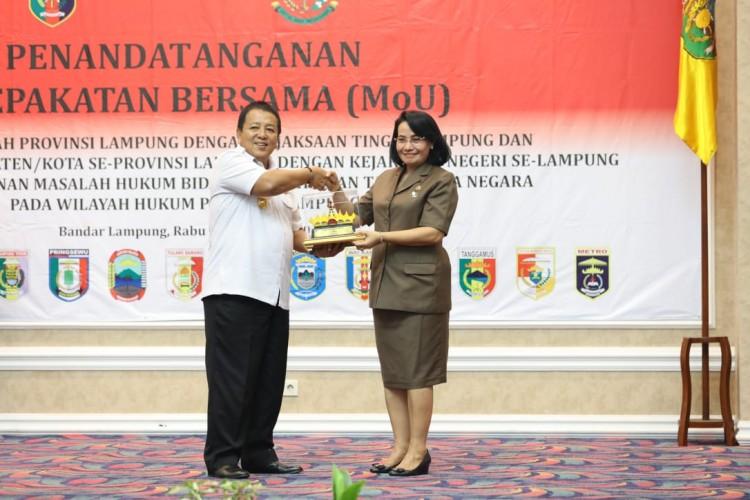 Kejati Soroti Perdata dan Tata Usaha Negara di Lampung