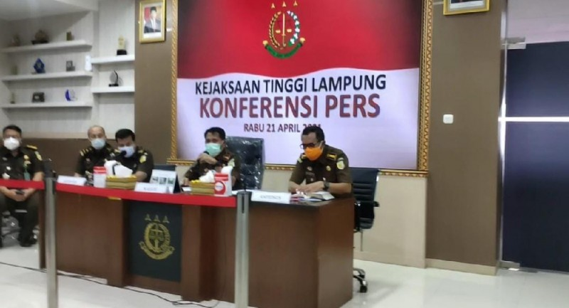 Kejati Tetapkan Dua Tersangka Korupsi BUMD Lampung