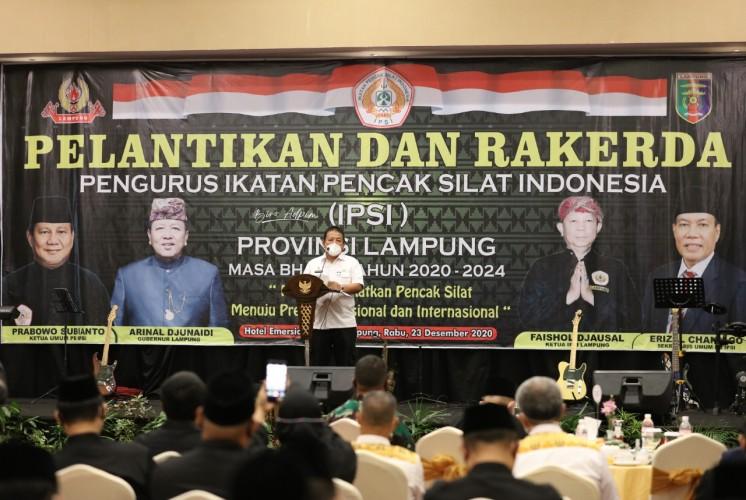 Kejayaan Pencak Silat Lampung Harus Kembali Diraih
