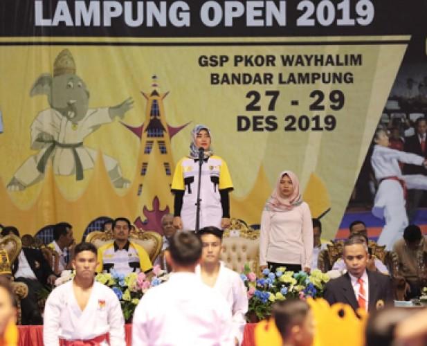 Kejurnas Karate Lampung Open Ajang Tingkatkan Prestasi