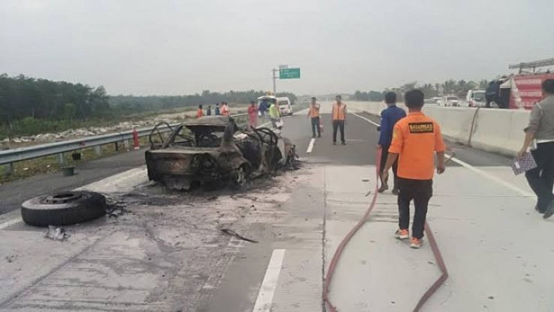 Kelalaian Jadi Penyebab Utama Kecelakaan di Tol