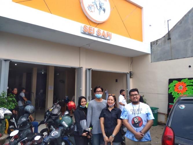 Kelezatan Sei Sapi Hadir di Lampung