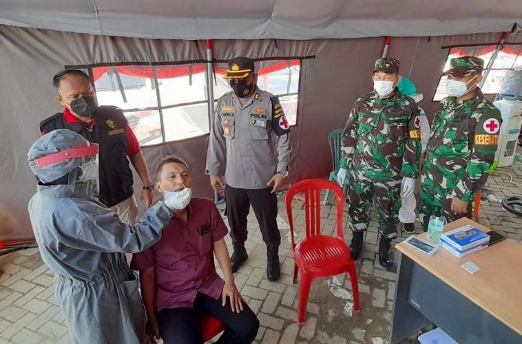 Keluar Masuk Lampung Harus Melewati Pemeriksaan Ketat
