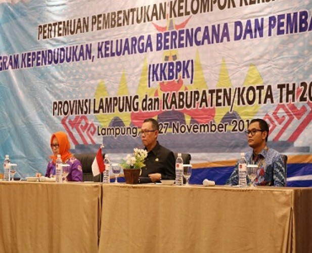 Keluarga Merupakan Basis Pembangunan Lampung