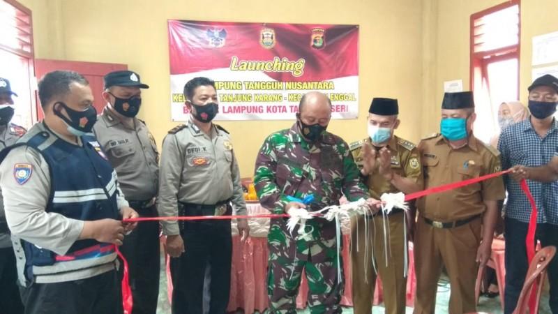 Kelurahan Tanjungkarang Ditetapkan Jadi Kampung Tangguh Nusantara