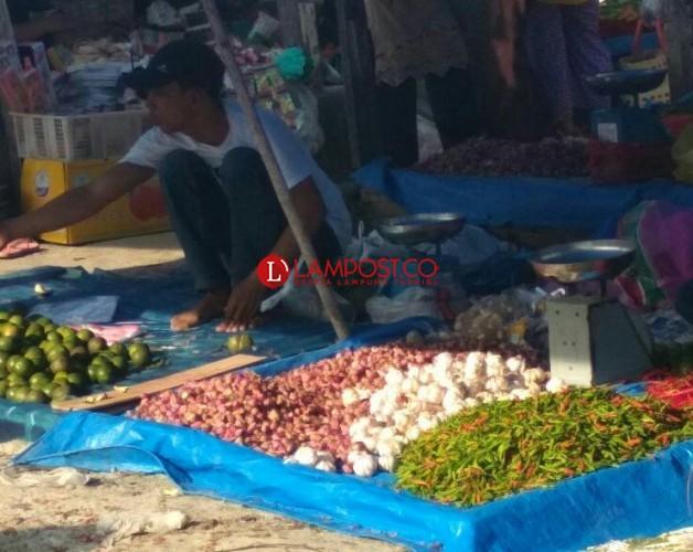 Kemarau, Harga Sayuran di Lampung Selatan Meroket