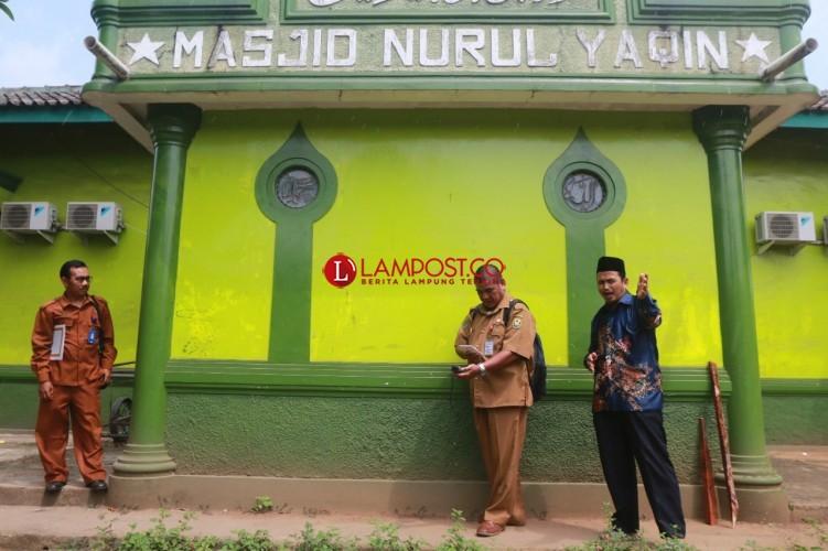 Kemenag Bandar Lampung Perbaiki Arah Kiblat Nurul Yaqin Labuhanratu