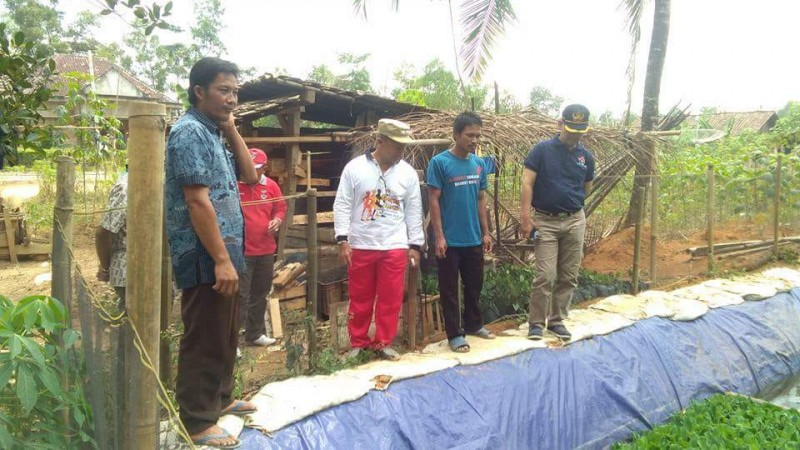 Kemendes PDTT Kunjungi Mesuji Tinjau Program Kolamisasi