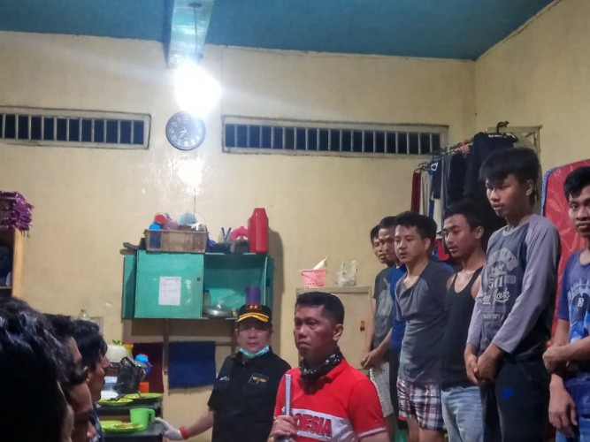 Kemenkumham Lampung Razia Lapas Way Hui