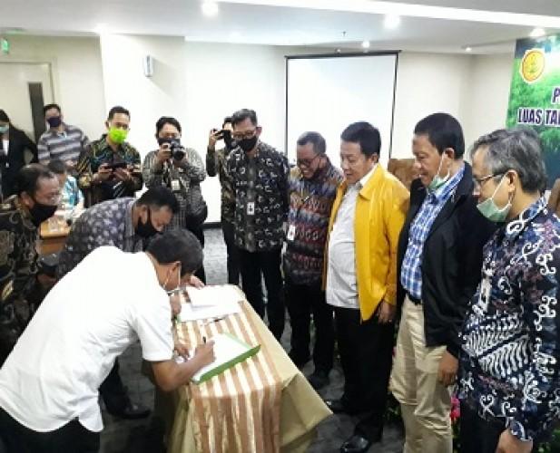 Kementan <i>Support</i> Penuh Lampung sebagai Lokomotif Pertanian