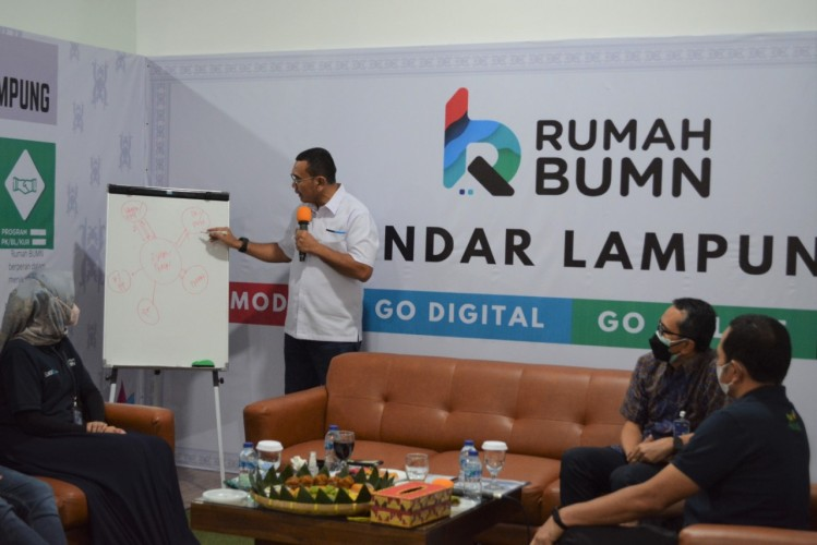 Kementerian BUMN Apresiasi PLN Sukses Berdayakan 1.122 UMKM di Lampung