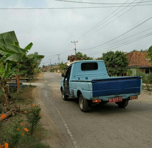 Kendaraan Dinas Dishub Lamsel Sudah Ditarik