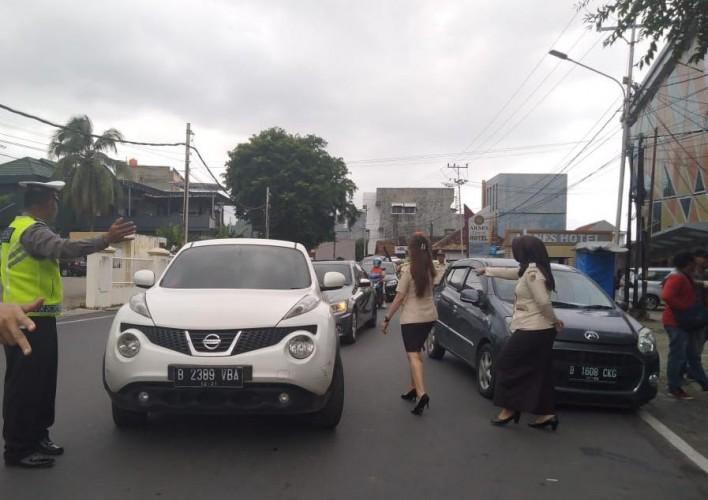 Kendaraan Mati Pajak Berpelat Luar Lampung Ditertibkan