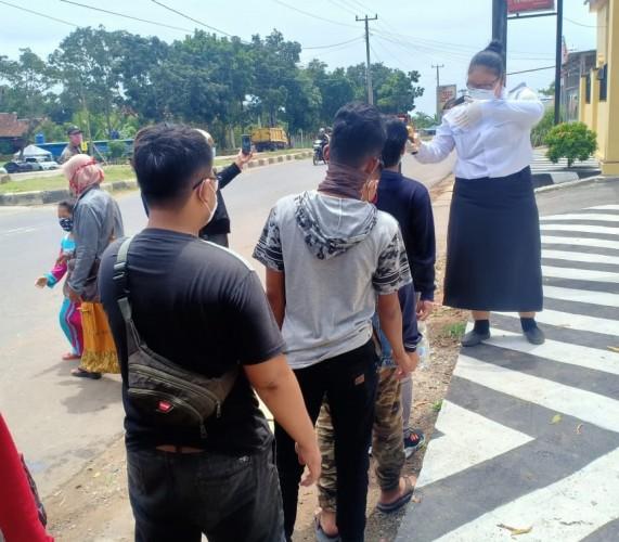 Kendaraan yang Masuk Bandar Lampung Diawasi Ketat