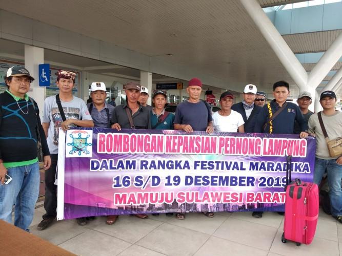 Kepaksian Pernong Ikut MeriahkanFestival Maradika Mamuju 2019