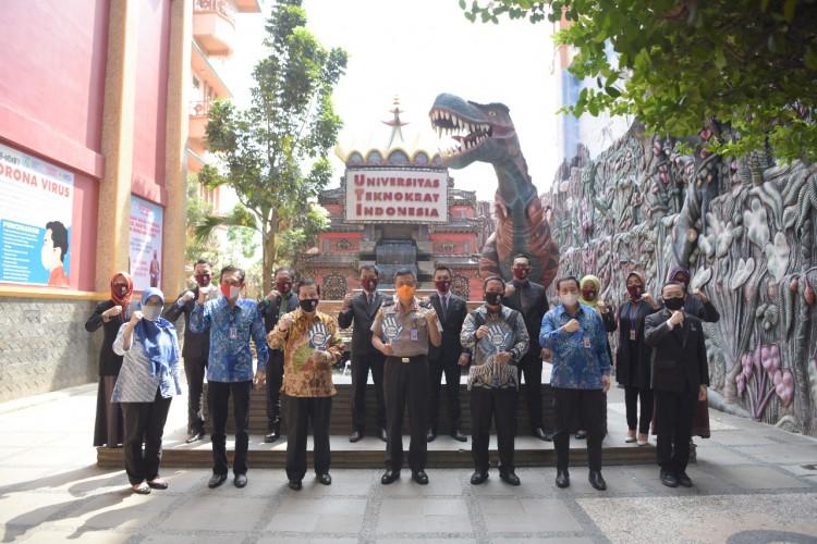 Kepala BNNP Lampung Dukung Universitas Teknokrat Jadi Kampus Bersinar