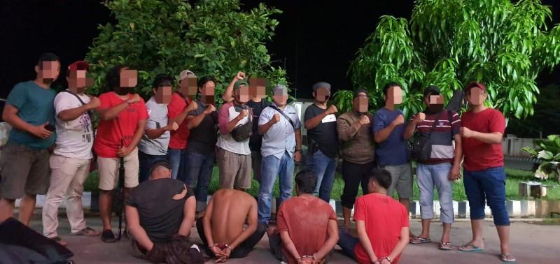 Kepala Desa dan Tiga Perampok Ditangkap Polres Mesuji