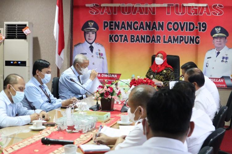 Kepala KPPN Bandar Lampung Audiensi dengan Wali Kota