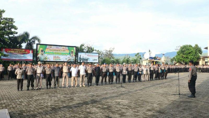 Kerahkan 2.321 Polisi, May Day di Lampung Kondusif
