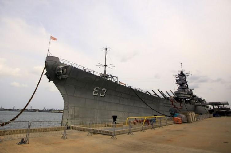 Kerangka Kapal Perang Dunia ke II Tersebar di 40 Titik