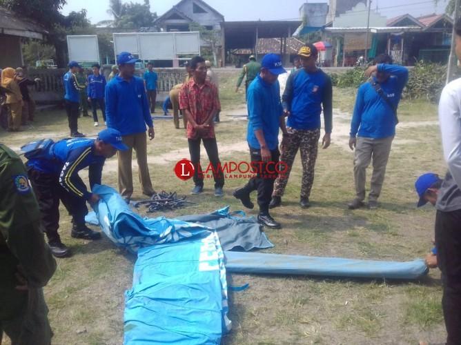 Kerap Banjir, Warga Bandaragung Ikuti Pelatihan Tanggap Bencana