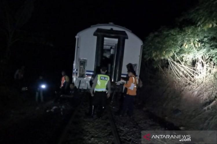 Kereta dari Solo Menuju Bandung Anjlok di Nagreg