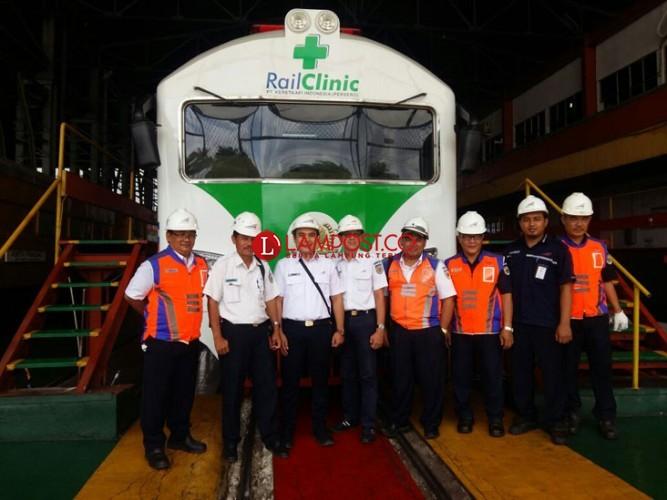 Kereta Sehat Siap Layani Pemudik 2018