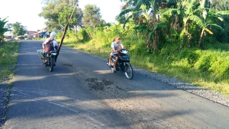 Kerusakan Jalan Poros Palas Masih Tanggungjawab Rekanan