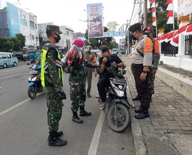 Kesadaran Warga Bandar Lampung Pakai Masker Masih Minim
