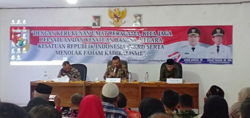 Kesbangpol Pemkab Tubaba Bina FKUB