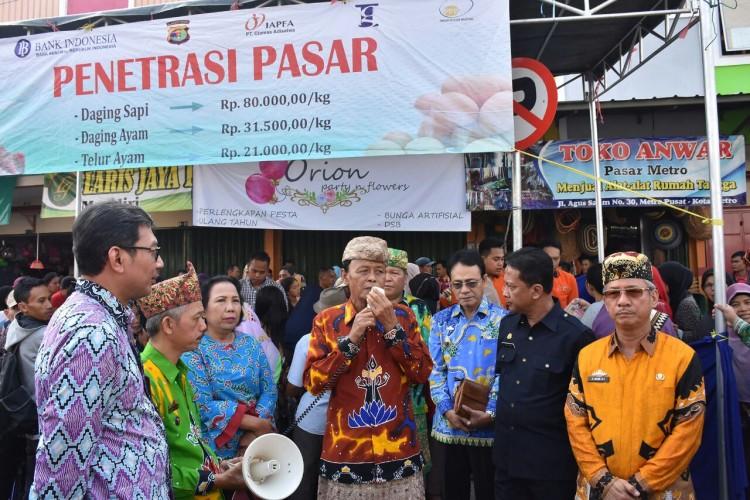 Kesiapan Idul Fitri, Walikota Metro Sidak Pasar dan Terminal