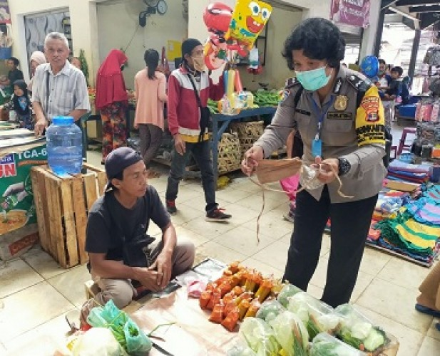Ketangguhan Bhabinkamtibmas Perempuan di Tengah Pandemi
