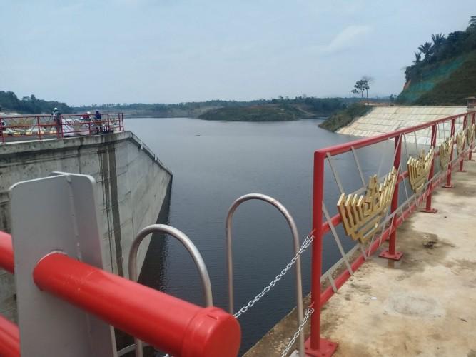 Ketinggian Air di Bendungan Way Sekampung Masih Kurang