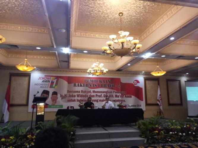 Ketua Bravo 5 Lampung Moderatori Rakernas di Jakarta